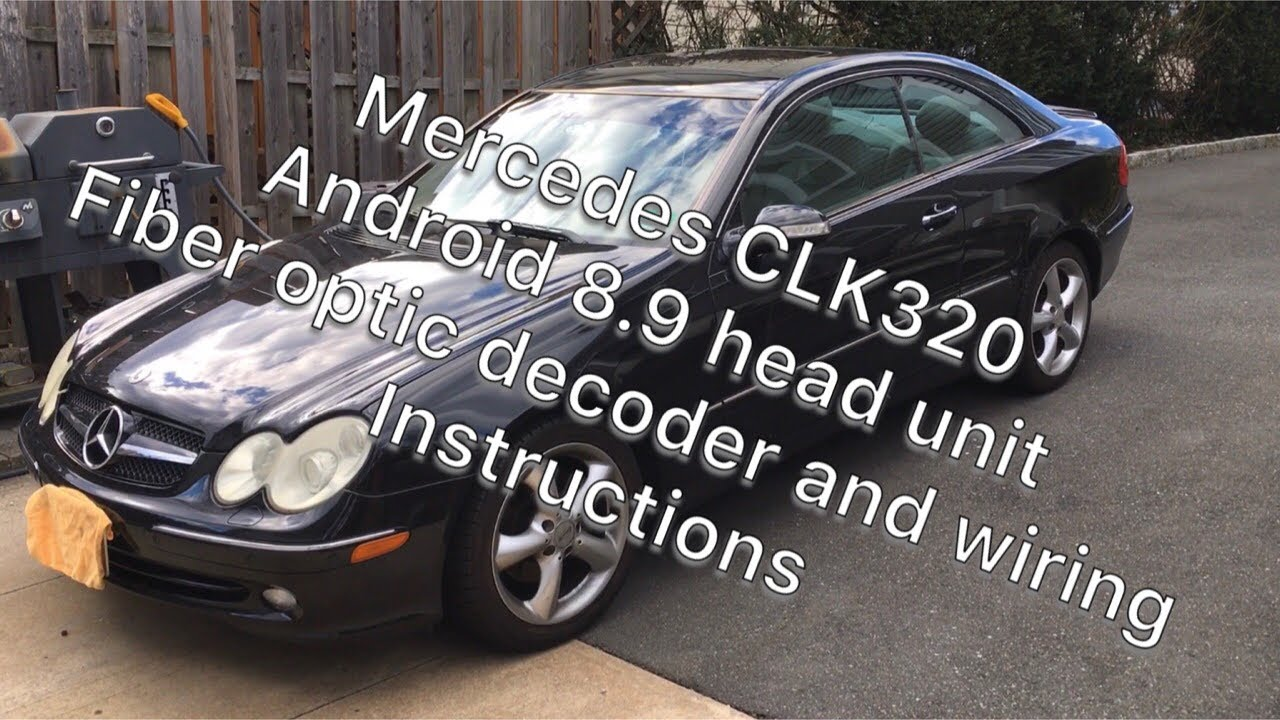 W211 - Replace factory head unit with Android navigation unit