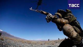 Лучшие моменты контртеррористической операции в Киргизии на учениях