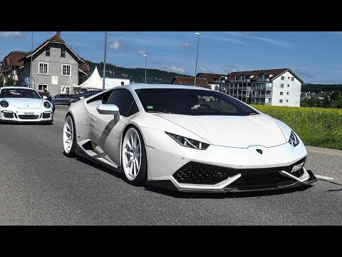 Cars & Coffee Switzerland Oftringen 2017 - Swiss Classic & Supercars