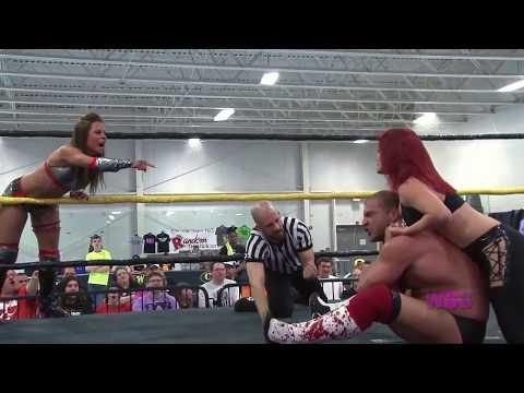 MATCH PREVIEW: Sassy Stephie & DJ Hyde vs. Shanna & Chris Dickinson (WSU King & Queen 2014)