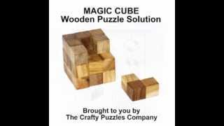 Magic Cube Puzzle Brain Teaser Solution