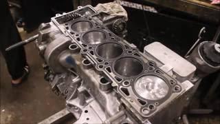 WV TRANSPORTER T-5 2.5 AXD Капитальный ремонт не ремонтируемого двигателя Часть 2