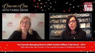 Tina Fascetti, Truth Serum – 2020 PharmaVOICE 100 Celebration