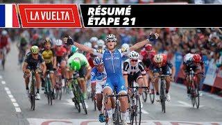 Résumé - Étape 21 - La Vuelta 2017