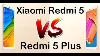 Xiaomi Redmi 5 VS Redmi 5 Plus сравнение, тесты камеры.