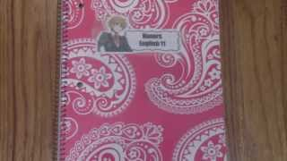 Anime Decorations Diy : Free!/anime Notebook Labels