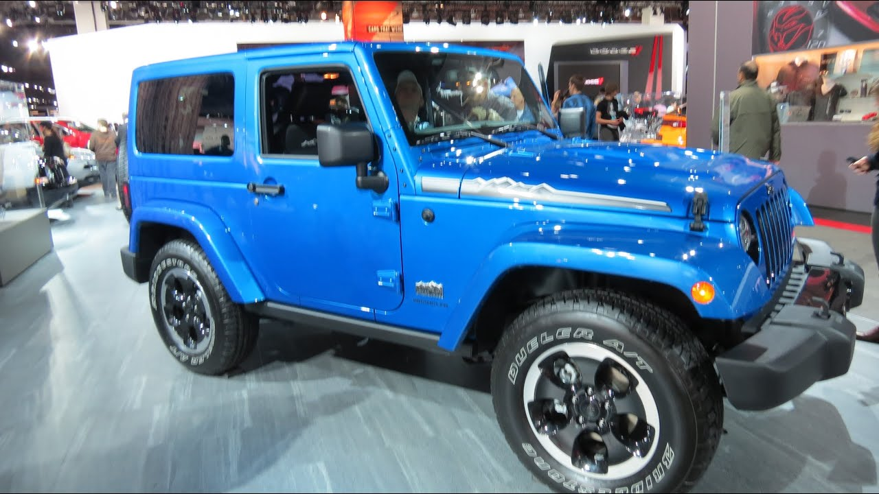 2014 jeep wrangler polar edition at the 2014 naias auto show youtube. Black Bedroom Furniture Sets. Home Design Ideas