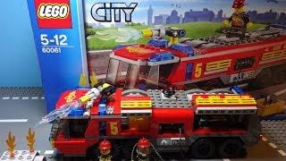 LEGO City 2014 Airport Fire Truck: Stop Motion
