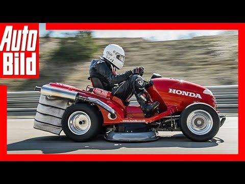 Honda Mean Mower Der Schnellste Rasenmaher Der Welt