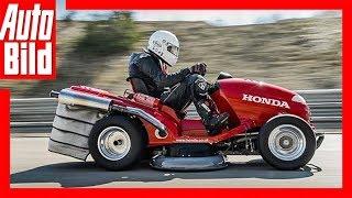 Honda Mean Mower - Der schnellste Rasenmäher der Welt