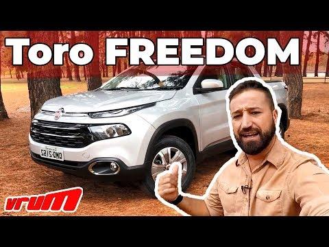 TESTE: TORO FREEDOM 1.8 - VALE A PENA INVESTIR NA PICAPE FLEX? / Vrum Brasília