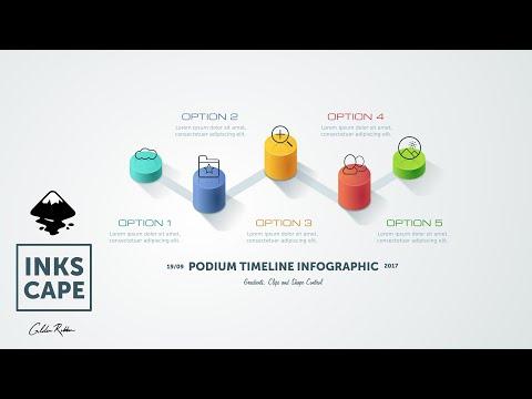 Inkscape:Tutorial Podium Infographic