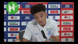 Jadon Sancho: I used to watch YouTube videos of Ronaldinho and now I am in the England squad!