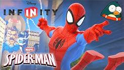 SPIDERMAN Deutsch Speider Män Zeichentrick Superhelden Kinderspiele Kindervideos - Disney Infinity