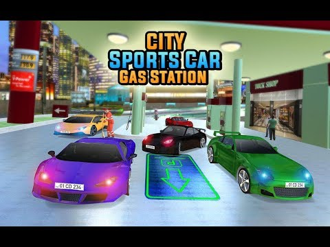 Luxury Car Driving Simulator - Gas Station Parking - Car Driving Games 4 Kids - Android Mobile Game