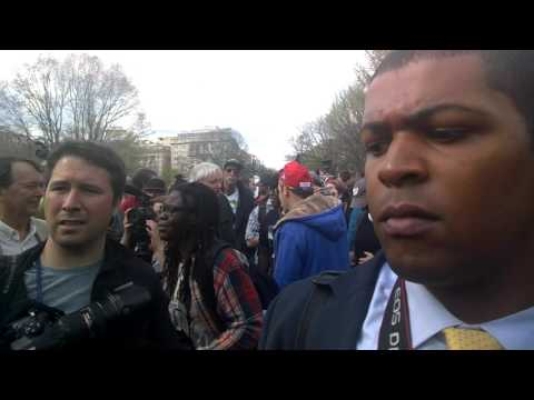 DCMJ Whitehouse First Amendment REschedule 420 Legalize Smokeout