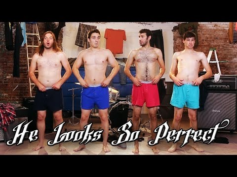 He Looks So Perfect - 5 Seconds Of Summer Parody