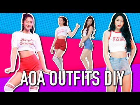 Bingle Bangle DIY outfits and MV cover
