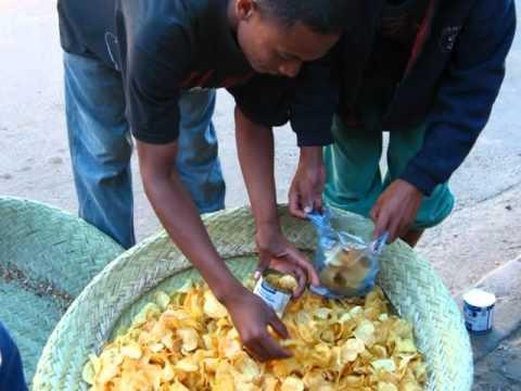 Au Marché à Madagascar