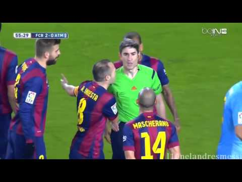 Atletico Madrid Vs FC Barcelona  0-2 All Action and Goal 4/13/2016 HD