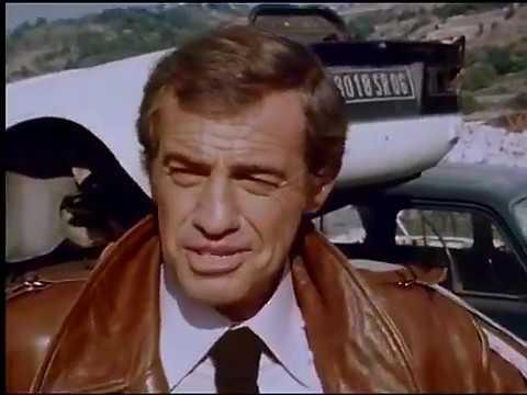Tournage de Flic ou voyou. Interview de Belmondo et Lautner (FR3 Côte d'Azur, 1978))
