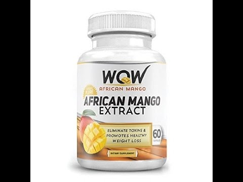 Wow African Mango Extract Capsules Unpacking