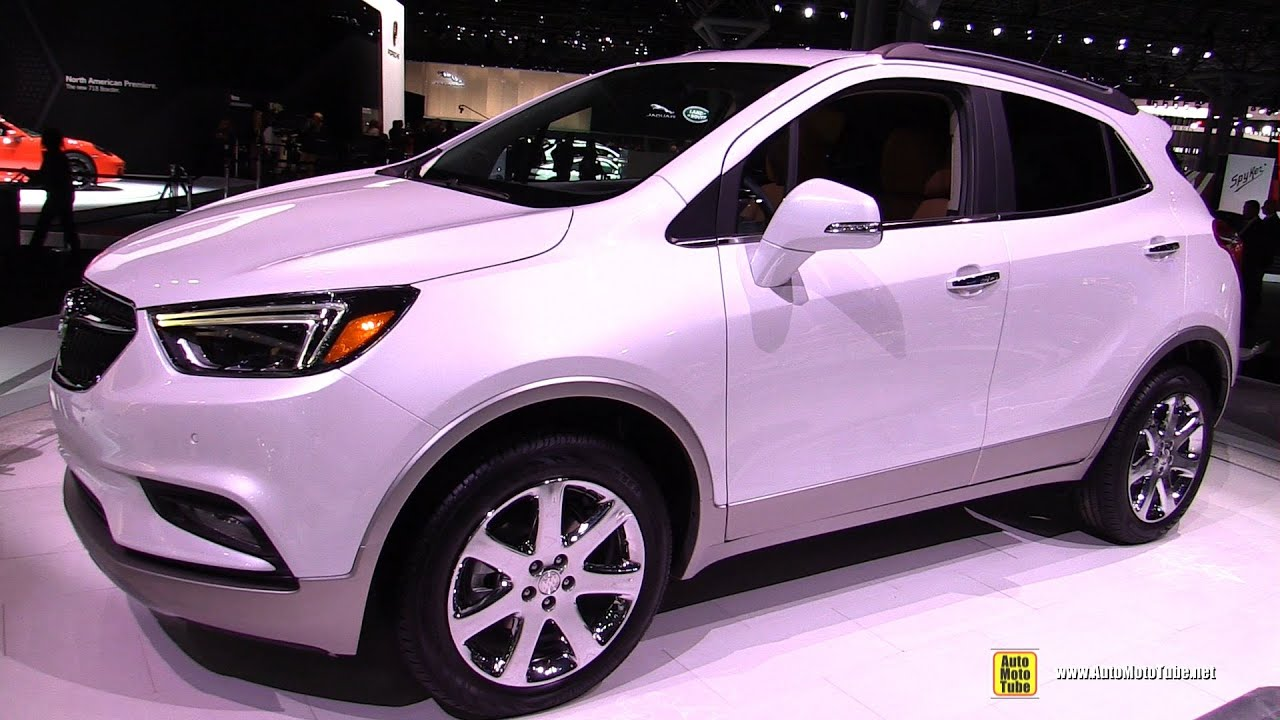 2017 Buick Encore AWD   Exterior And Interior Walkaround   Debut At 2016  New York Auto Show   YouTube