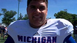 Interview with Brother Rice / Cornell 2014 DL Al Sandoval