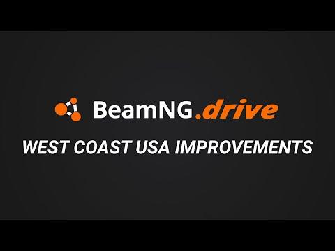 BeamNG.drive - West Coast USA Improvements