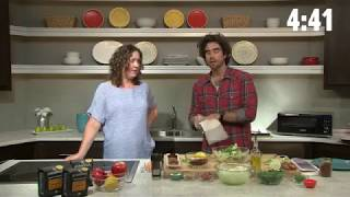 LIVE: Gabe Kennedy's Coffee-Crusted Hanger Steak | Allrecipes.com