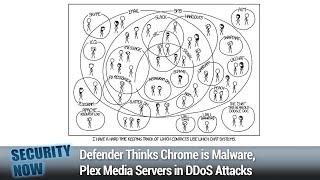 SCADA Scandal - Defender Thinks Chrome is Malware, Plex Media Servers in DDoS Attacks