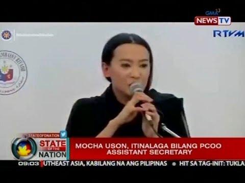 SONA: Mocha Uson, itinalaga bilang PCOO Assistant Secretary