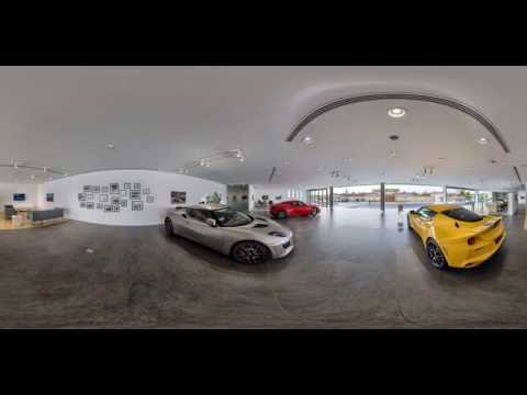 Alghanim Kuwait - Lotus Cars Showroom