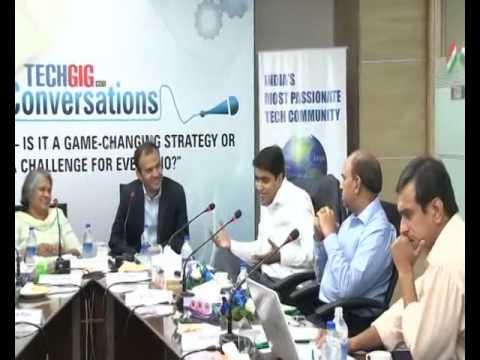 TechGig Conversation on Big Data- Delhi Chapter: Part 1