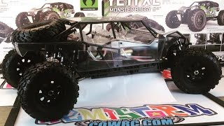 World's BIGGEST Axial Yeti XL - Twin Motored 2x6s HemiStorm Yeti XXL