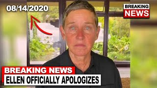 Ellen Degeneres Responds With Apology Video...