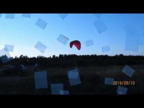 Деревенский экстрим2. Rural extreme. Paragliding.