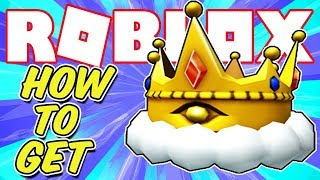 HOW TO GET THE GILDED TRIAD CROWN IN ROBLOX *WITHOUT AN ANDROID DEVICE* - BLOX HUNT PROMOTION