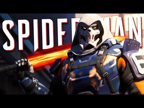 SECRET TASKMASTER BOSS FIGHT!!   Spider-Man PS4 - Part 14