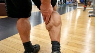 Как качать икры. О мышцах голени.(Подписка на фитнес: http://bit.ly/SkWv5s Подписка на бодибилдинг: http://bit.ly/1669ekc Артем Масалов обладаем мощными, хорошо..., 2013-03-27T06:11:39.000Z)