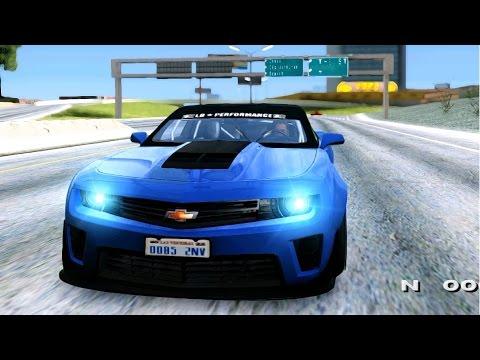 GTA San Andreas - 2012 Chevrolet Camaro ZL1 Liberty Walk LB Performance EnRoMovies