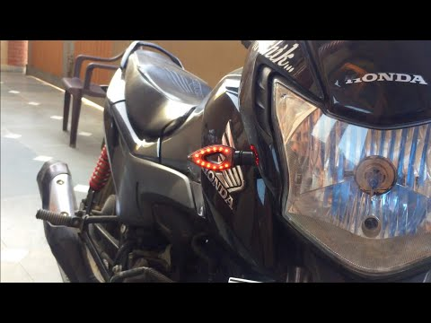 Best universal LED indicator lights for your motorcycle |Honda Livo