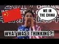 WHAT WAS I THINKING?! | CHINA VLOG