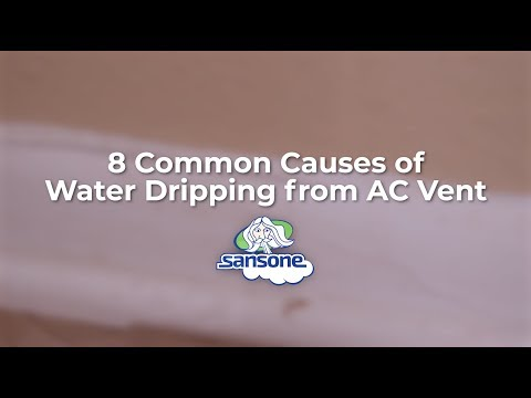 Water Is Dripping From Your Ac Vent