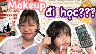 Makeup sương sương đi học/video dành cho mấy bạn muốn makeup đi học    TUONGGG_TWINS