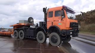 日本通運 ベンツ4軸トラクター4850 回送