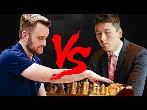 Eric Hansen vs John Bartholomew Bullet Chess Match - 동영상