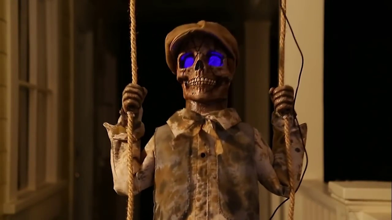 spirit halloween 2017 lil skelly bones remake leaked video - Spirit Halloweens