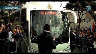 Así recibió Cádiz la llegada del Real Madrid