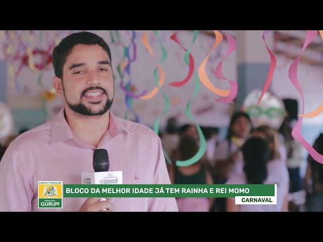 Rainha e Rei Momo da melhor idade são escolhidos em Gurupi-Carnaval de Gurupi 2019